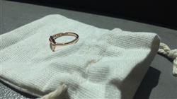 Danielle B. verified customer review of Rose Gold Whale Tail Ring