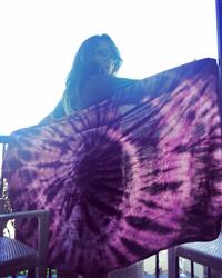 January D. verified customer review of Burgundy Swirl Towel