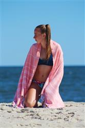 Alyson B. verified customer review of Peach Towel