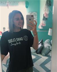 Caitlyn E. verified customer review of Dark Grey Ambassador Recycled Tee