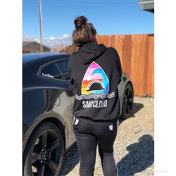 Darian H. verified customer review of Shark Waves Black Hoodie
