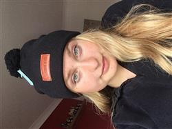 Ellie P. verified customer review of Black Knit Beanie