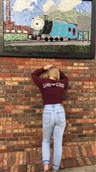 hailey r. verified customer review of Burgundy Whale Tail Long Sleeve