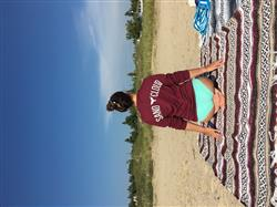 melissa m. verified customer review of Burgundy Whale Tail Long Sleeve
