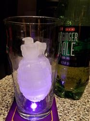 Monica R. verified customer review of 3D Grenade Ice Mold