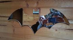 Michael B. verified customer review of Batman Logo Mirror
