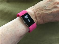 Heather H. verified customer review of Silicone Fitbit Charge 2 Bands