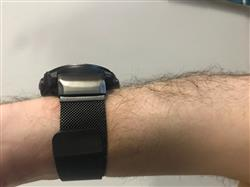Anonymous verified customer review of Black Milanese Loop Garmin Fenix 5X Band
