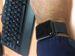 Peter W. verified customer review of Space Grey Milanese Loop Apple Watch Band