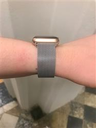 Anonymous verified customer review of Silver Milanese Loop Apple Watch Band