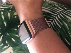 Tracey O. verified customer review of Rose Gold Milanese Loop Apple Watch Band