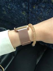 Julia M. verified customer review of Rose Gold Milanese Loop Apple Watch Band