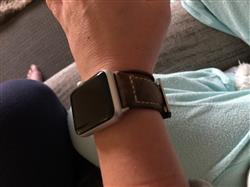 Chris C. verified customer review of Italian Vintage Dusk Apple Watch Band