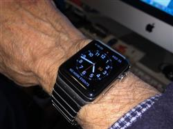 Brian H. verified customer review of Silver Ceramic Stainless Steel Apple Watch Band