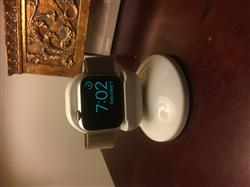 Liz S. verified customer review of Apple Watch Night Stand