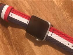 Cameron M. verified customer review of NATO Apple Watch Band