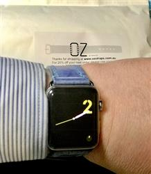 Anonymous verified customer review of The Malvern Collection Apple Watch Band
