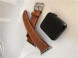 Matt P. verified customer review of Single Tour Leather Apple Watch Band