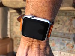 Anonymous verified customer review of Single Tour Leather Apple Watch Band