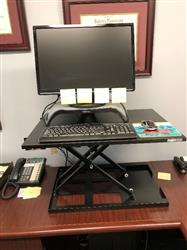 Michael M. verified customer review of X-ELITE Pro Standing Desk Converter