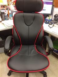 Paula S. verified customer review of Bosun Ergonomic Office Chair with Red Accents