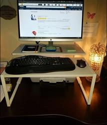 Ms. Paris verified customer review of Adapt-A-Desk Converter