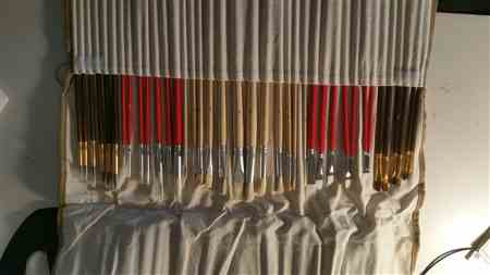 Cat Bart verified customer review of 38 Piece Brush Set With Canvas Bag
