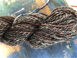 Connie M. verified customer review of Ashford Silk Merino Sliver - 2.2lbs (1kg) - Poppy Seed