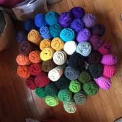 Ann S. verified customer review of Brown Sheep Lambs Pride Worsted Yarn