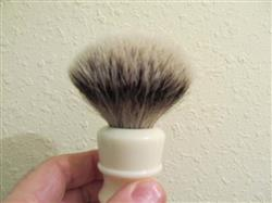 Ron verified customer review of Fendrihan High Mountain White Badger Shaving Brush, Ivory Handle