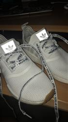 Randy R. verified customer review of White Walk by Faith Shoelaces