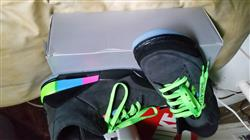 Alim J. verified customer review of NEON GREEN SHOELACES