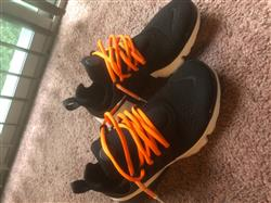Kevin K. verified customer review of NEON ORANGE-WHITE DIPPED SHOELACES