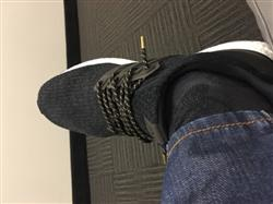Shervin J. verified customer review of Black Gold Thread Rope Shoelaces