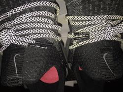 Black 3M Rope Shoelaces