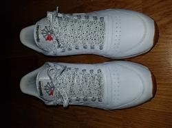 White Cement Shoelaces
