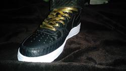 Daniel L. verified customer review of Gold Leather Shoelaces