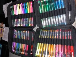 jasmine c. verified customer review of Gel Pen Combination Pack - 96 Gel Pens, 96 Ink Refills, 2 Travel Cases