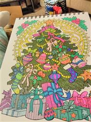 Sandy W. verified customer review of A Colorful Christmas Illustrated By Hasby Mubarok