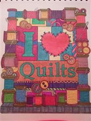 Joyce M. verified customer review of Colorful Quilts Illustrated by Stevan Kasih