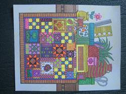 Laura K. verified customer review of Colorful Quilts Illustrated by Stevan Kasih