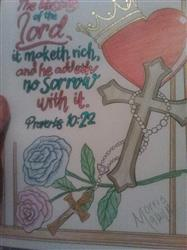 Linda M. verified customer review of Colorful Scriptures Illustrated By Terbit Basuki