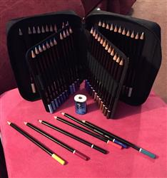 Fran M. verified customer review of Premium 72 Colored Pencil Set With Case and Sharpener