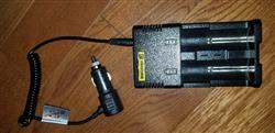 Michael C. verified customer review of Efest/Nitecore/Opus Car adapter