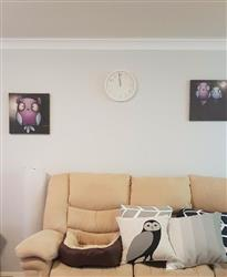 Abby R. verified customer review of London Clock Company Tell the Time Wall Clock, White, 30cm