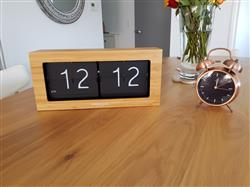 Paolo C. verified customer review of London Clock Company Stor Flip Table Clock, 37cm + GIFT