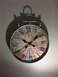 Casa Uno Antique FOB Multi Colour Wall Clock, 58cm