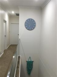 Debby H. verified customer review of One Six Eight London Chloe Wall Clock, Pastel Blue, 60cm + GIFT