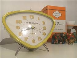 Kathleen F. verified customer review of London Clock Company Astro Alarm Clock, Lime Yellow, 14cm