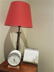 Chris M. verified customer review of London Clock Company Forme Alarm Clock, White Resin, 12cm